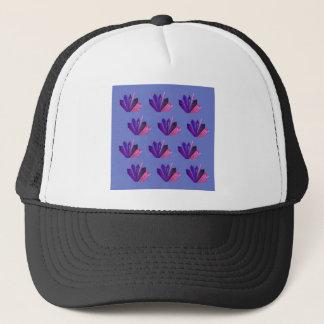 Design gems on blue edition trucker hat