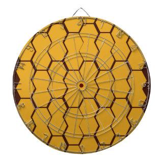 Design honey blocks gold dartboard