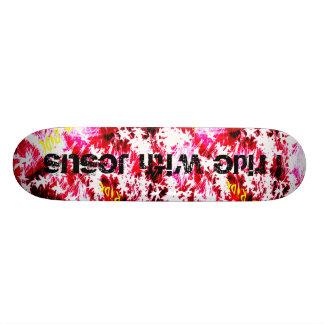 design, I ride with Jesus Skate Board Decks