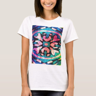 Design in colorful background T-Shirt