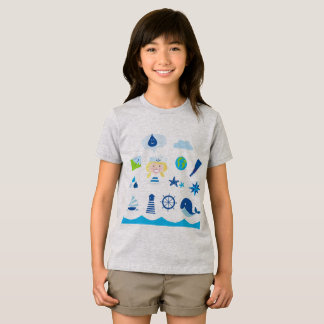 Design Kids tshirt with Mare icons