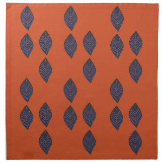 Design leaves. Design elements ethno Napkin