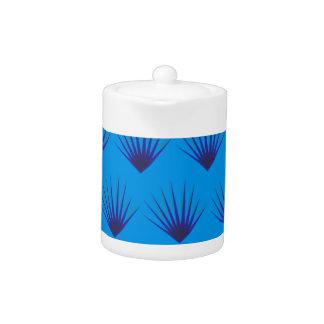 Design leaves Exotic blue
