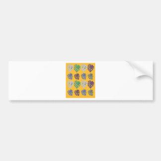 Design leaves exotic bumper sticker