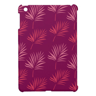 Design leaves Exotic pink Case For The iPad Mini