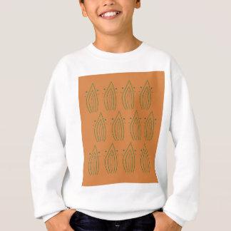 Design Leaves gold green Ethno Sweatshirt