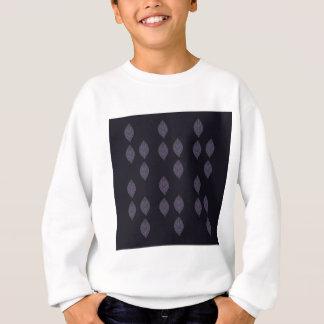 Design leaves on Black Sweatshirt