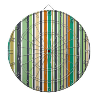 Design lines bamboo dartboard