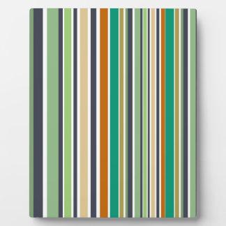 Design lines bamboo plaque