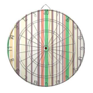 Design lines sweet Bamboo Dartboard