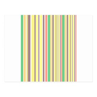 Design lines sweet Bamboo Postcard