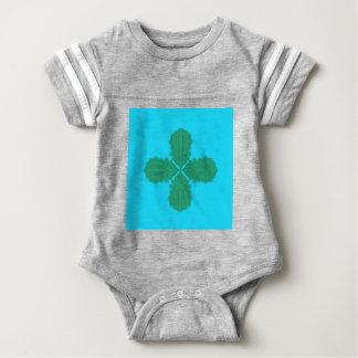 Design Mandala blue bio Baby Bodysuit