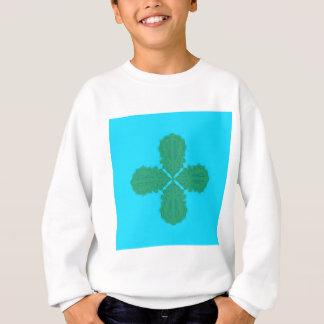 Design Mandala blue bio Sweatshirt