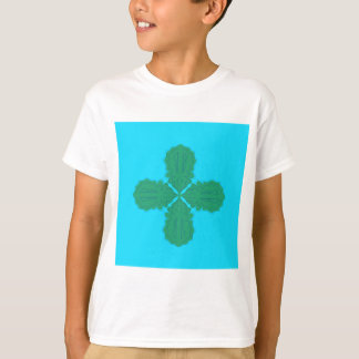 Design Mandala blue bio T-Shirt