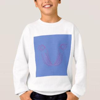 Design mandala blue sweatshirt