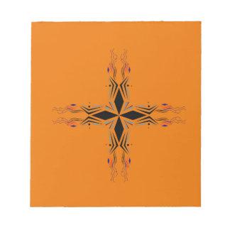 Design mandala Brown Notepad