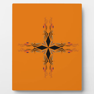Design mandala Brown Plaque