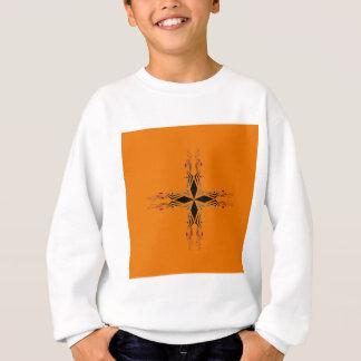 Design mandala Brown Sweatshirt