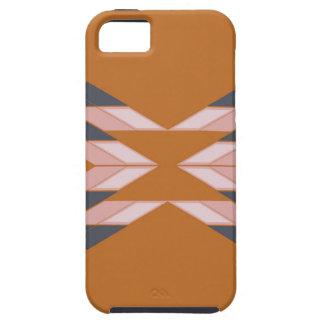 Design mandala ECO BROWN iPhone 5 Cover