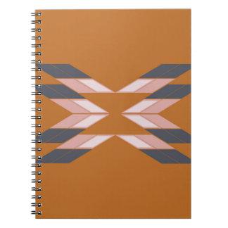 Design mandala ECO BROWN Notebook