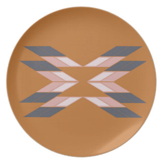 Design mandala ECO BROWN Plate