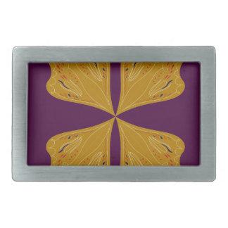 Design mandala gold wine ethno belt buckle