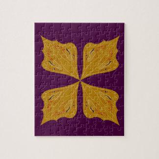 Design mandala gold wine ethno jigsaw puzzle