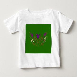 Design mandala Green Eco Baby T-Shirt