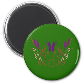 Design mandala Green Eco Magnet