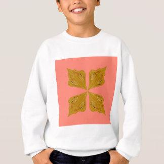 Design mandala on pink sweatshirt