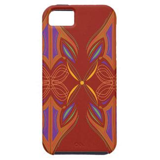 Design mandalas eco brown iPhone 5 case