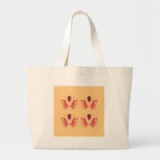 Design mandalas on Vanilla Large Tote Bag