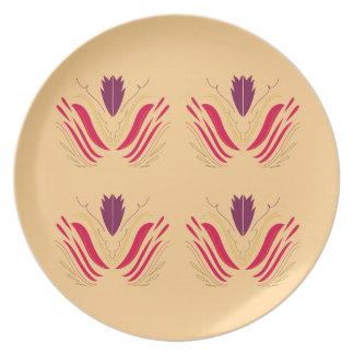 Design mandalas on Vanilla Plate