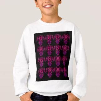 Design mandalas pink black sweatshirt