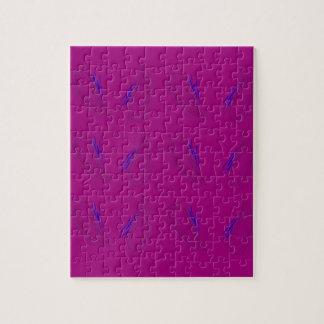 Design mandalas Pink Jigsaw Puzzle