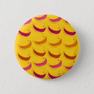 Design melons on Gold 2 Inch Round Button