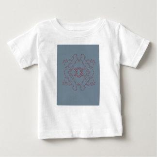 Design monogram delicious Love  Red Baby T-Shirt