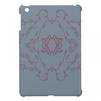 Design monogram delicious Love  Red Case For The iPad Mini