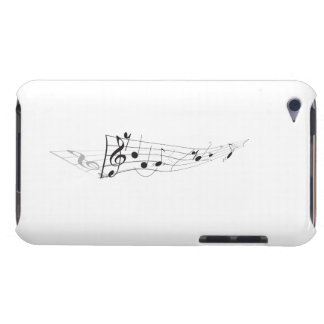 Design Of A Twisting Musical Score Case-Mate iPod Touch Case