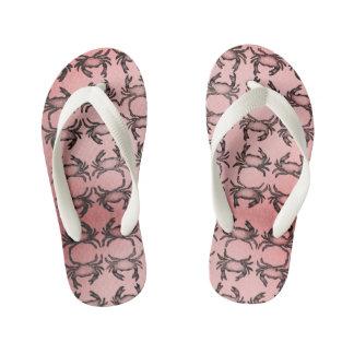 Design of summer kid's flip flops