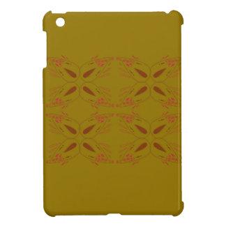 Design ornaments olive dark iPad mini case