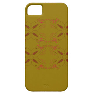Design ornaments olive dark iPhone 5 covers