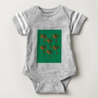 Design palms bio look baby bodysuit