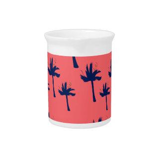 DESIGN Palms eco pink Pitcher