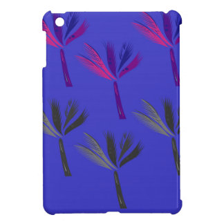 Design palms exotic blue cover for the iPad mini