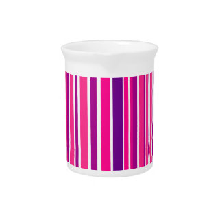 Design pink Bamboo elements Pitcher