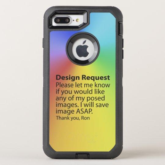 Design Request OtterBox Defender iPhone 8 Plus/7 Plus Case