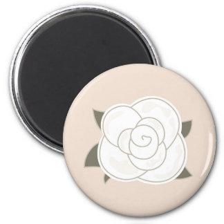 Design rose brown eco magnet