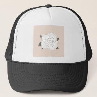 Design rose brown eco trucker hat