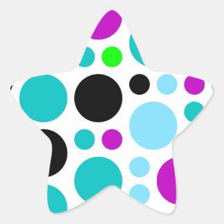 Design scores star sticker